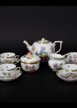 Viktória mintájú 6 személyes teáskészlet